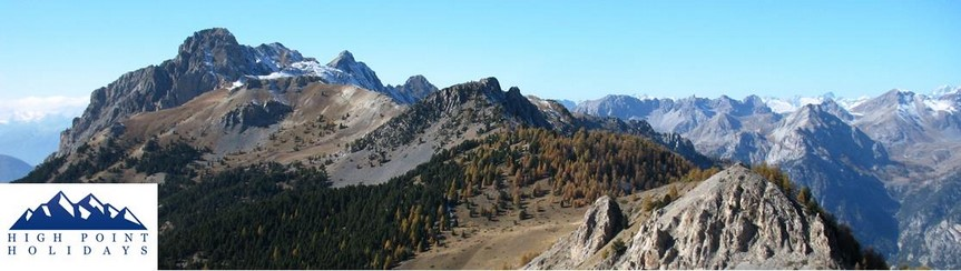 walking holiday in mountains french alps trek briancon to mediterranean GR5